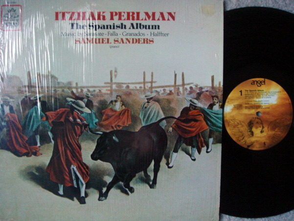 EMI Angel / PERLMAN-SANDERS, - The Spanish Album, MINT!