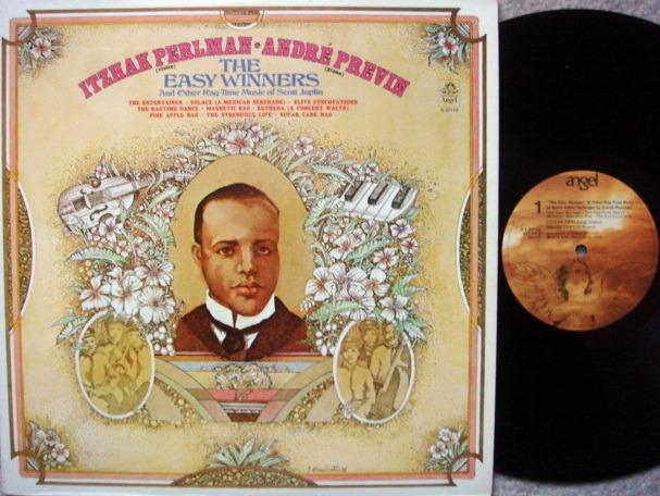 EMI Angel / PERLMAN-PREVIN, - Scott Joplin Rag-Time Music,  MINT!