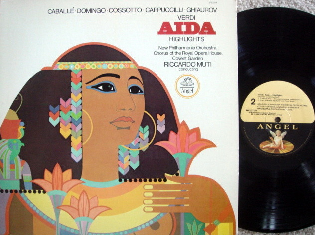 EMI Angel / MUTI, - Verdi Aida Highlights,  MINT!