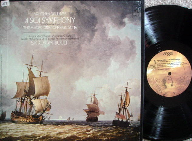 EMI Angel / BOULT,  - Vaughan Williams A Sea Symphony, MINT, 2LP Box Set!