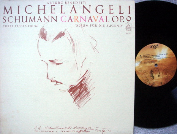 EMI Angel / MICHELANGELI, - Schumann Carnavel,  MINT!