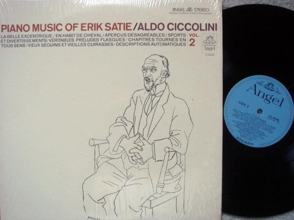EMI Angel Blue / CICCOLINI,  - Satie Piano Music Vol.2,  NM!