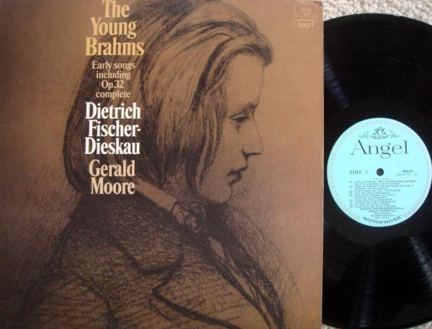 EMI Angel Blue Mono / FISCHER-DIESKAU, - Brahms Early Songs, MINT!