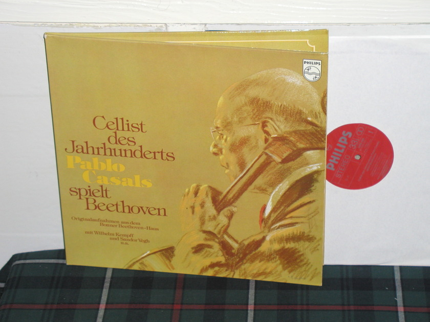 Casals/Kempf - Cellists des Jahrunderts Philips Import  6701 2lp