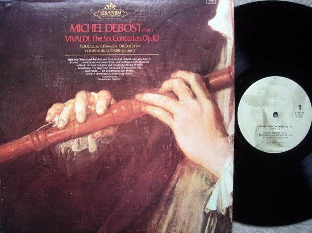EMI Angel Seraphim / AURIACOMBE-DEBOST, - Vivaldi The Six Concertos, MINT!