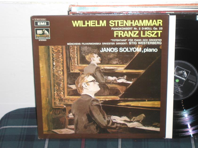 Solyom/Steinhammer - Liszt Svenska/EMI/HMV import