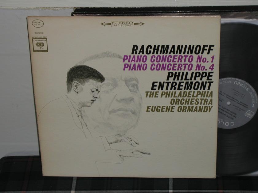 Entremont/Ormandy - Rachmaninoff Cto 1 Columbia 360 1st labels LP