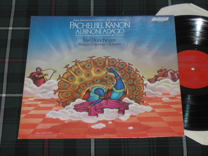 Munchinger/SCO - Pachelbel/Albinoni LP London ffrr cs 7102