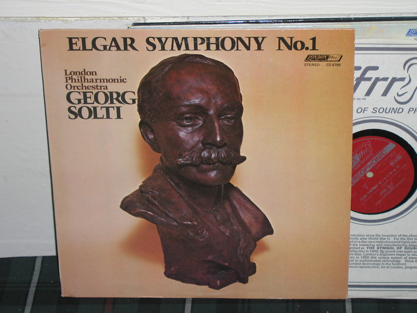 Solti/Lpo - Elgar Sym.No. 1 London ffrr UK/Decca cs6789
