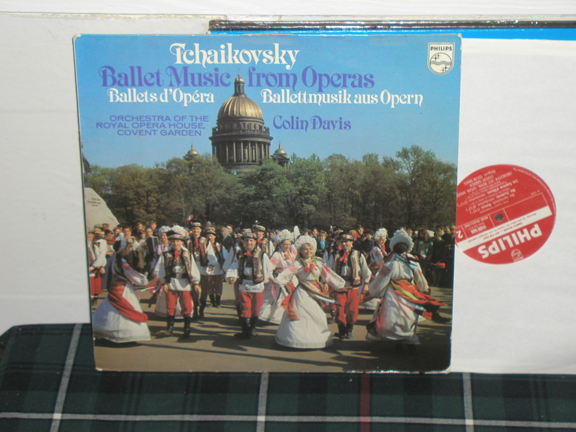 Davis/ROHO Covent Garden - Tchaikovsky Philips Import Pressing 9500