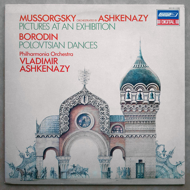 London Digital/Ashkenazy/Mussorgsky Pictures At An Exhibition, - Borodin Polovetsian Dances / NM