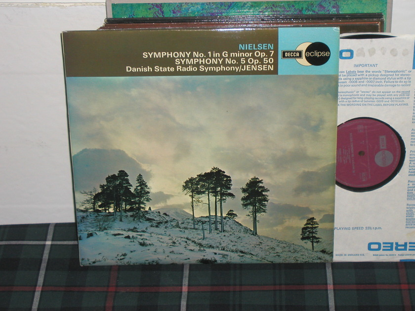 Jensen/DSRS - Nielsen Sym 1 Decca Eclipse ecs 570