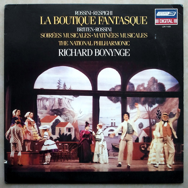London Digital/Bonynge/Rossini-Respighi - La Boutique Fantasque / NM