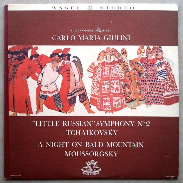 Angel blue/Giulini/Tchaikovsky - Symphony No. 2, Moussorgsky A Night on Bald Mountain / NM
