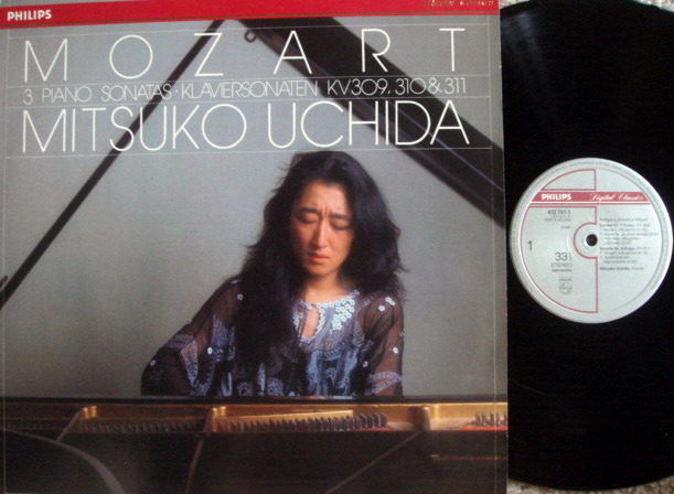 Philips Digital / UCHIDA,  - Mozart # Piano Sonatas, MINT, Promo Copy!