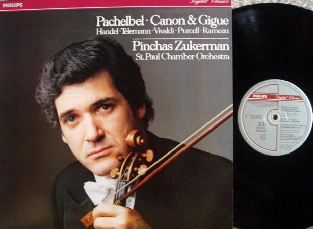 Philips Digital / ZUKERMAN, - Pachelbel Canon & Gigue,  MINT!