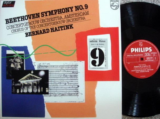 Philips Digital / HAITINK, - Beethoven Symphony No.9 Chorale,  MINT, 2 LP Set!