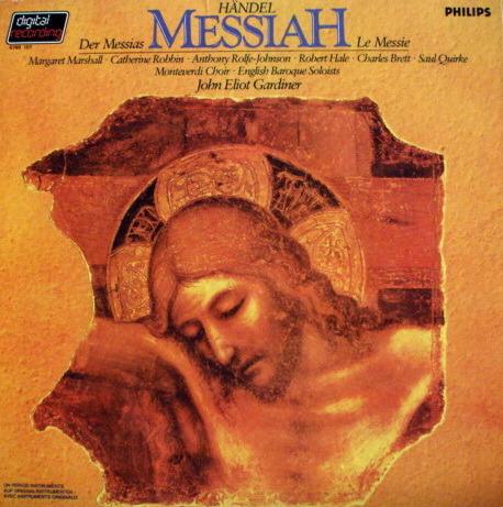 Philips Digital / GARDINER, - Handel Messiah, MINT, 3LP Box Set!