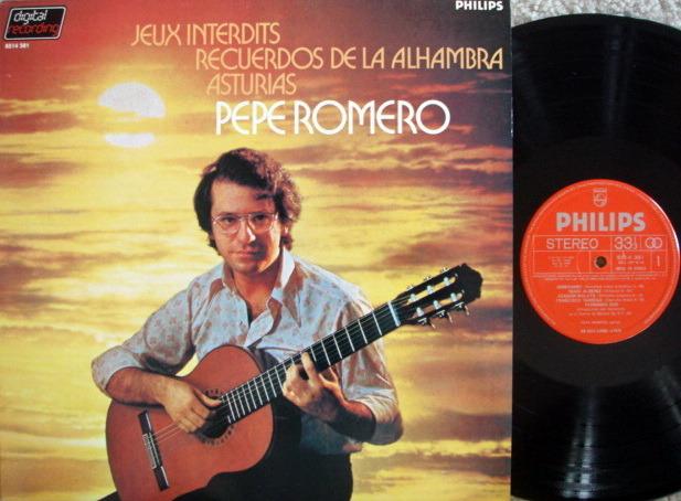 "Philips Digital / PEPE ROMERO, - Romance ""Jeux Interdits"", MINT!"