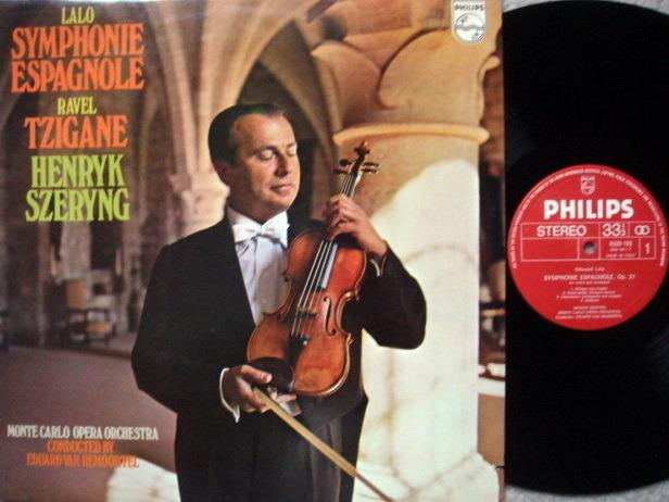 Philips / SZERYNG, - Lalo Symphonie Espagnole, MINT!