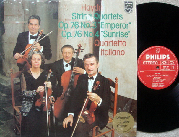 Philips / QUARTETTO ITALIANO, - Haydn String Quartets No.3 & 4,  MINT!