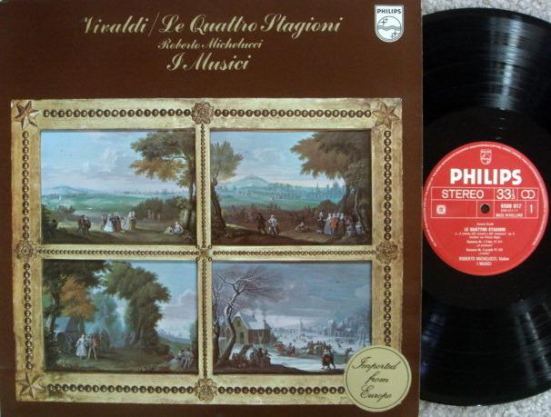 Philips / I MUSICI, - Vivaldi The Four Seasons, MINT!