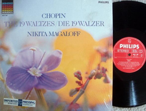 Philips / MAGALOFF, - Chopin 12 Waltzes, MINT!