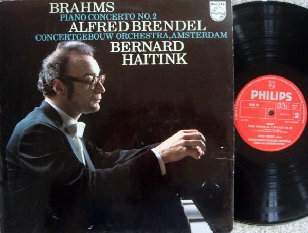 Philips UK / BRENDEL-HAITINK, - Brahms Piano Concerto No.2, MINT, UK Press!