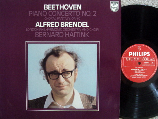Philips / BRENDEL-HAITINK, - Beethoven Piano Concerto No.2, MINT!