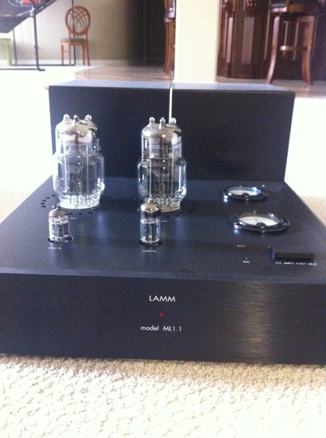 Lamm ML1.1 New tubes.