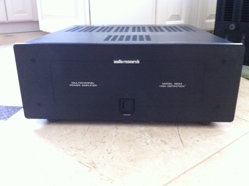 Audio Research 150M 5 channel amp. Will consider trades