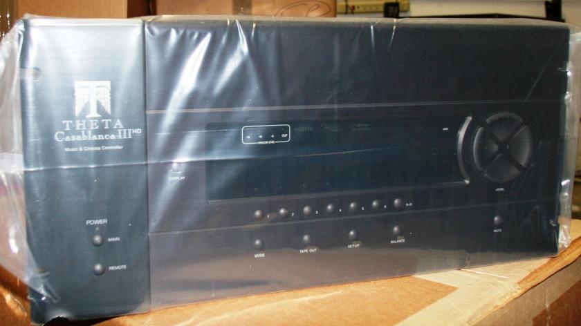 Theta Digital Black casablanca IIIHD Rack Mount Unit  w. warranty