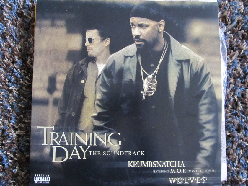 Krumbsnatcha featuring M.O.P. - Training Day the Soundtrack WOLVES Radio Edit, Instrumental, Explicit, A Cappella