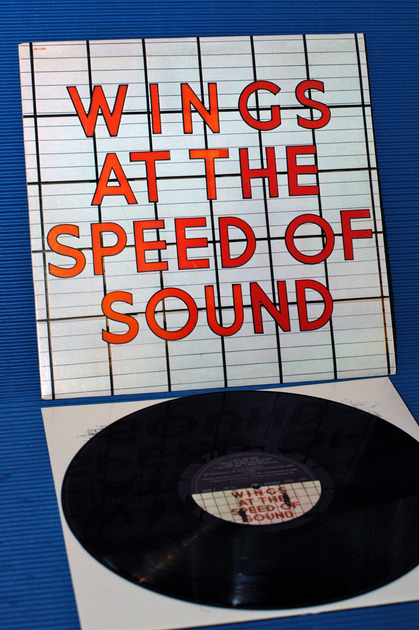 """WINGS -  - """"At the Speed of Sound"""" -  Capital  1976"""