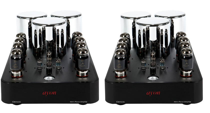 AYON AUDIO  ORTHOS II MONO AMPS BEST OF SHOW!