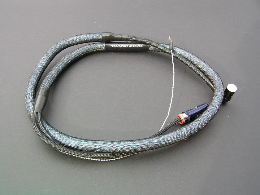 Silver Audio Silver Breeze Phono Cable Right Angle DIN/RCA .