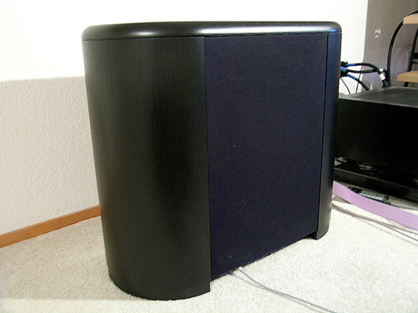 Audio Physic Minos Black ash subwoofer w/remote