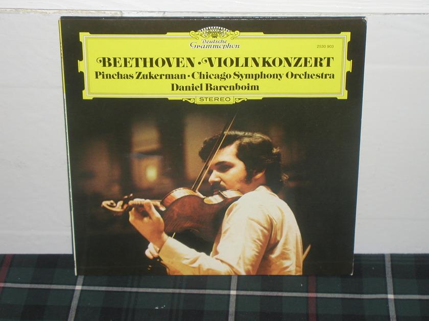 Barenboim/CSO - Beethoven Violin Cto DG German import LP