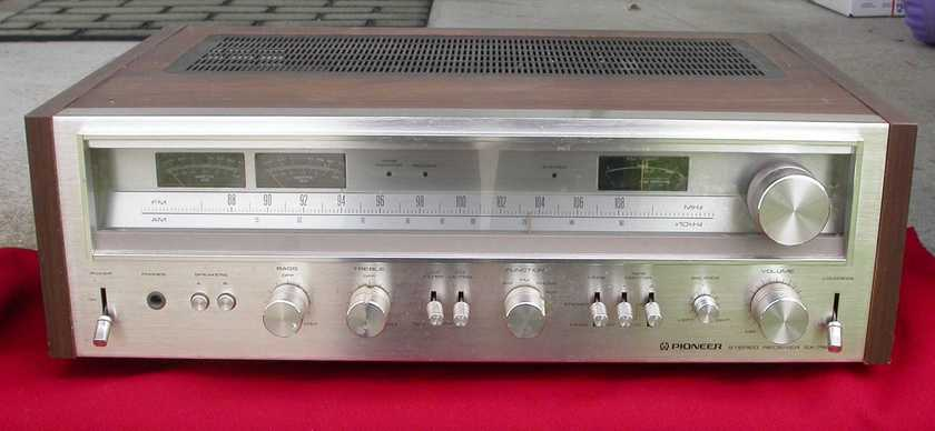 Classic Pioneer SX-780  Stereo Receiver