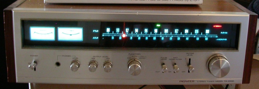 PIONEER TX9100 TX 9100 STEREO TUNER
