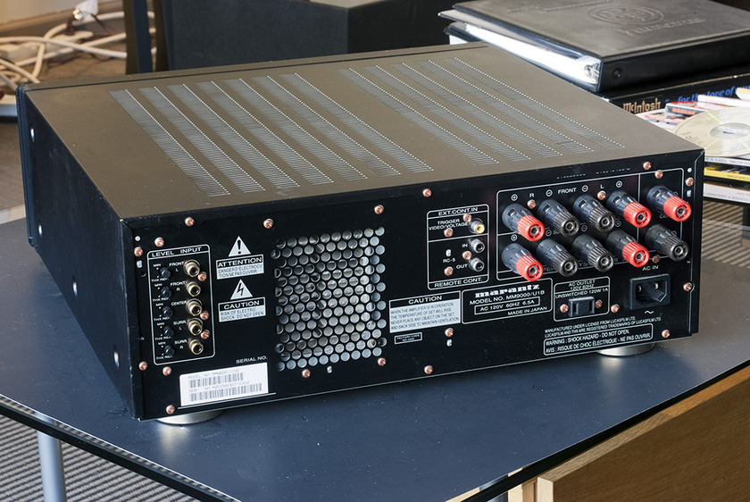 Marantz MM-9000 THX Ultra Certified Power Amplifier; 150w x 5