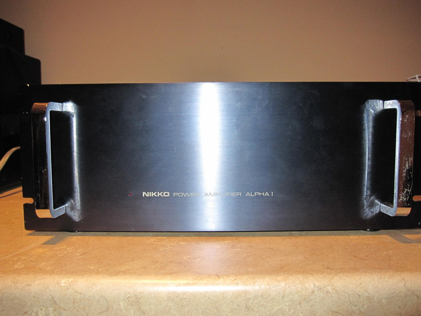 NIKKO ALPHA 1 AMPLIFIER