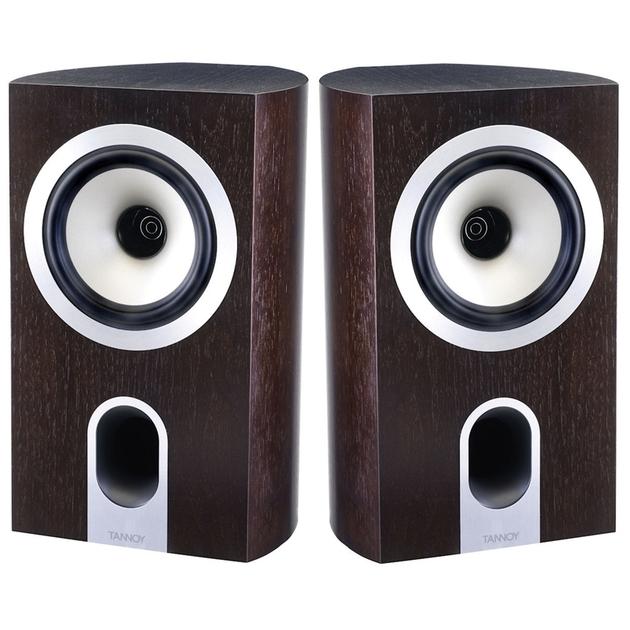 Tannoy Revolution Signature DC6  Bookshelf Speakers Dark Espresso
