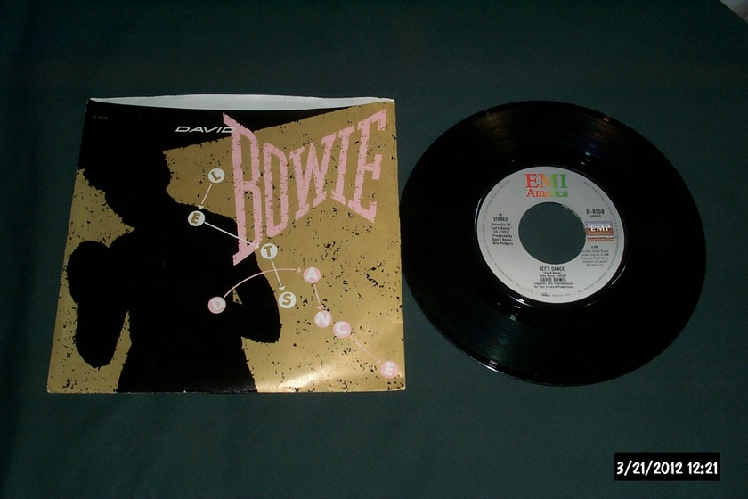 David Bowie - Let's Dance 45 With Picture Sleeve NM