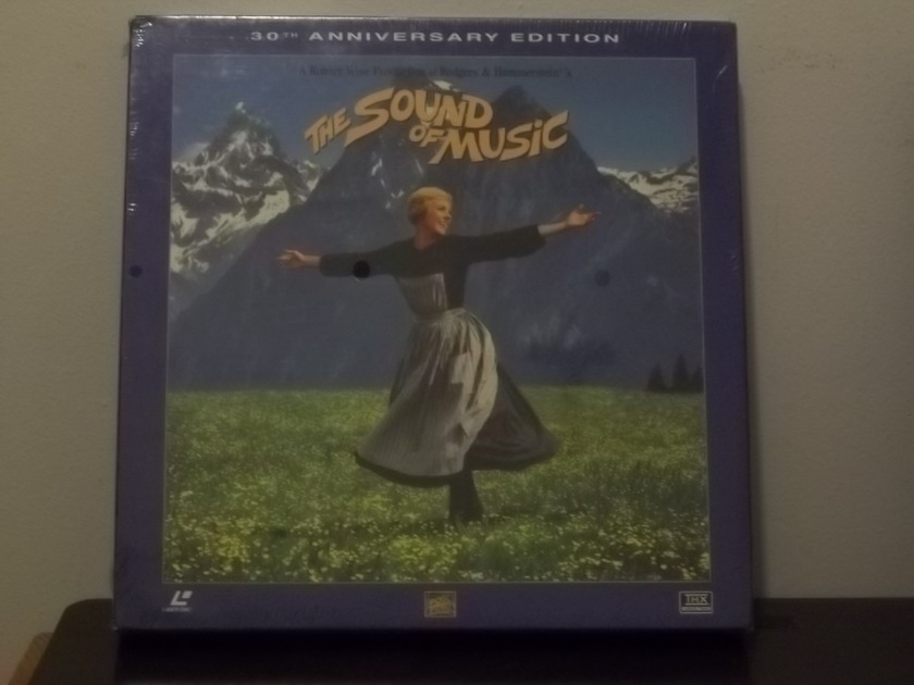 The Sound of Music Laser Disc - 30th Anniversary Edition Still Sealed lp