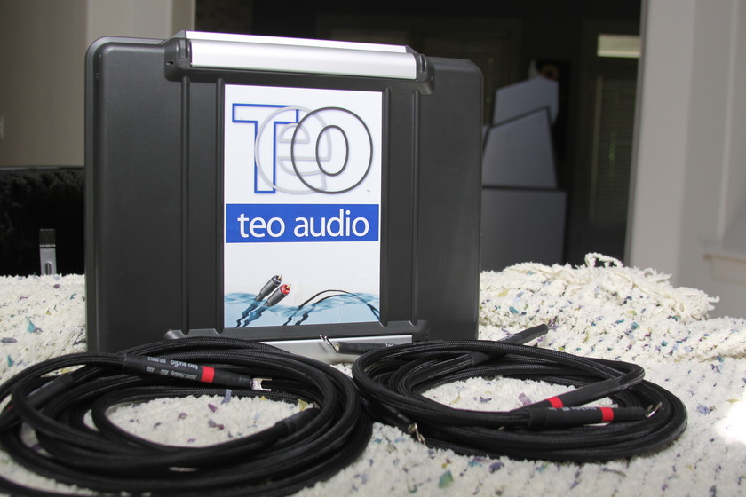 TEO Audio MHD Standard Amazing liquid speaker cables!