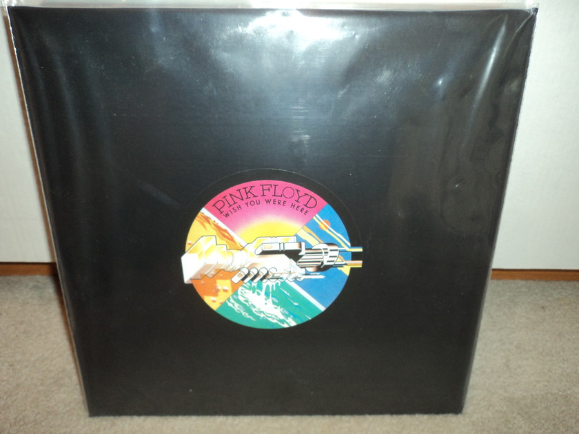 Pink Floyd - Wish You Were Here (poster, postcard) Brand New Sealed 180 Gram