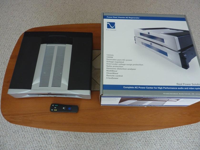 PS Audio Power Plant Premier AC power regenerator Silver