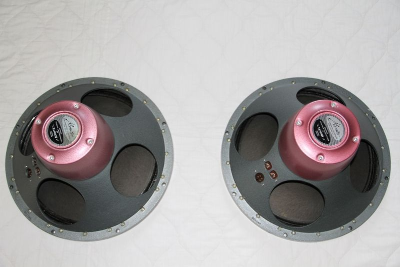 Tannoy Red Monitors and Xovers 15Inch Silver Dual Concentric LSU/HF/15/L