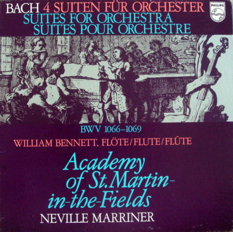 Philips / MARRINER, - Bach 4 Suites for Orchestra, MINT, 2LP Box Set!